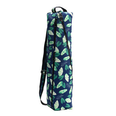 Yoga Mat Carry Bag Full Zip with Multiple Storage Pocket Adjustable Strap