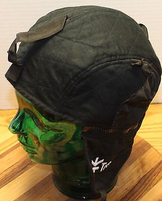 57b7541537ea04 Tough Duck Black Winter Rancher Style Hat Size Small In Good Condition