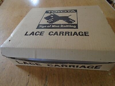 Toyota Lace Carriage For Knitting Machine