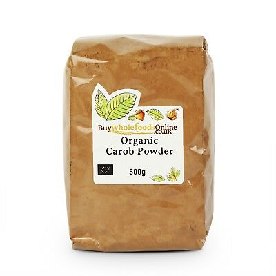 Organic Carob Powder 500g | Chocolate | Buy Whole Foods Online | Free UK P&P