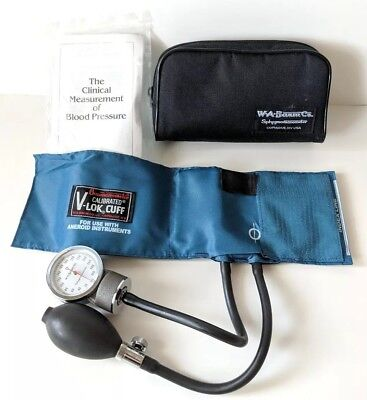 W. A. Baum Co. Aneroid Sphygmomanometer w/ Child Small Adult V-Lok Cuff