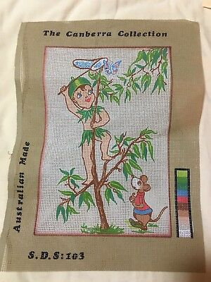 The Canberra Collection  Printed Tapestry Canvas Gumnut Baby Unstarted