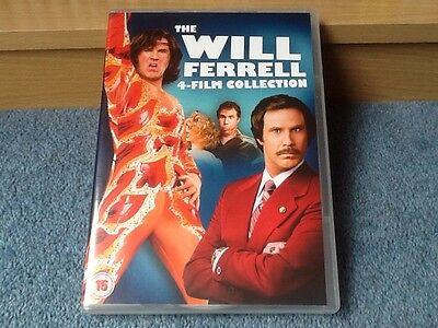 Will Ferrell - 4 Film Collection - Dvd (2013) - Anchorman + 3 Other Movies