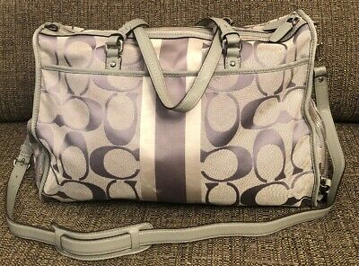 01856b49c75f AUTHENTIC COACH HAMPTONS Baby Diaper Business Tote Bag - $21.90 ...