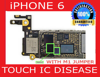 Repair Service For iPhone 6 Plus Touch IC  Disease, No Touch And Grey Bars Fix
