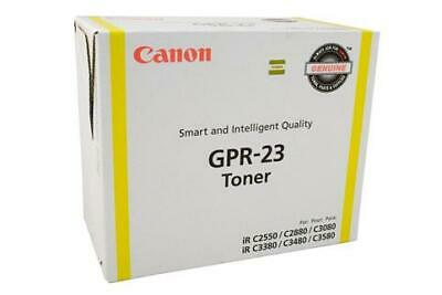 GENUINE Canon TG35 GPR23 Yellow Copier Toner Cartridge