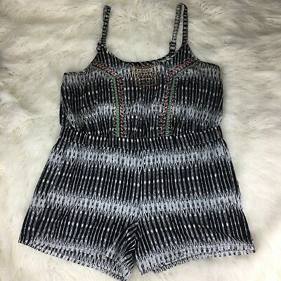 Jessica Simpson Rosedale Wrap-Front Romper MSRP $69.50 Size S # 7A 631 NEW