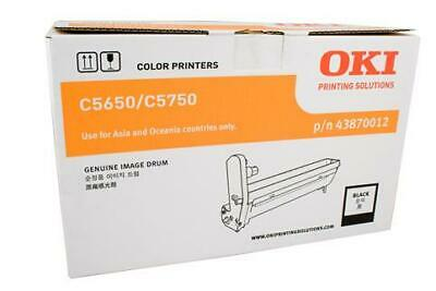 GENUINE Oki C5650 C5750 Black Drum Imaging Unit