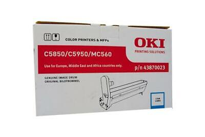 GENUINE Oki C5850 C5950 Cyan Drum Imaging Unit