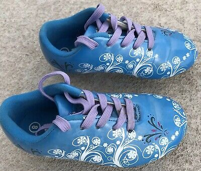 079e2d128 VIZARI YOUTH / Frost Baseball / Soccer Cleats Blue FG Shoes #93279 Youth  Girls 8