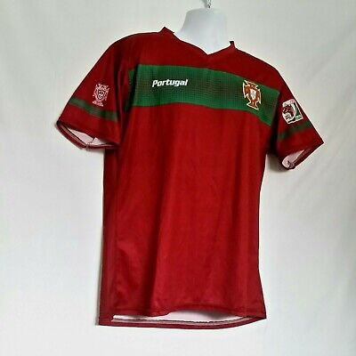 622dc4a4727 Portugal 2010 FIFA World Cup South Africa Futbol Soccer Jersey Mens Large -  Mint