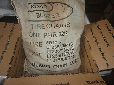 2228QC Quality Chain Road Blazer Cam 5.5mm Link Tire Chains