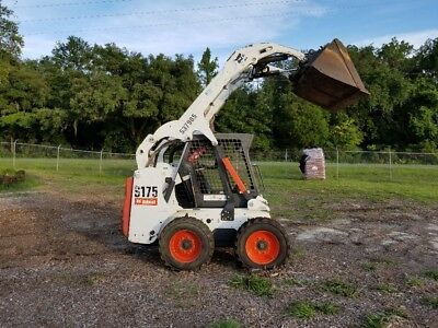 2007 BOBCAT S175 Skid Steer, OROPS, Sticks/Pedals, NEW Tires