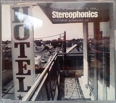 Stereophonics - Pick A Part That's New CD Single (CD 1999) + Bob Dylan Cover