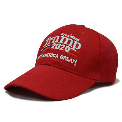 Donald Trump 2020 Keep Make America Great Cap President Election Hat Red US LO
