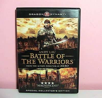 Dragon Dynasty Battle of The Warriors (DVD, 2006) Special Collector's Edition Ex