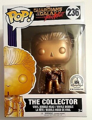 """""""THE COLLECTOR"""" Marvel Funko Pop! Walt Disney Parks Exclusive #236 - GREAT COND!"""