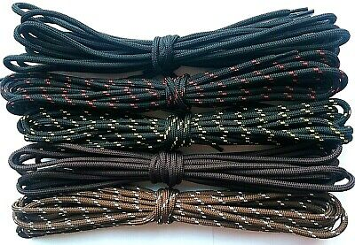 Boot Laces Walking Hiking Safety Shoes Round Strong Bootlaces BUY 4 GET 2 FREE !