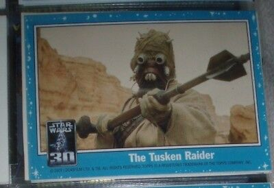 Star Wars 30th Anniversary Triptych Chase Card #3 Imprisonment