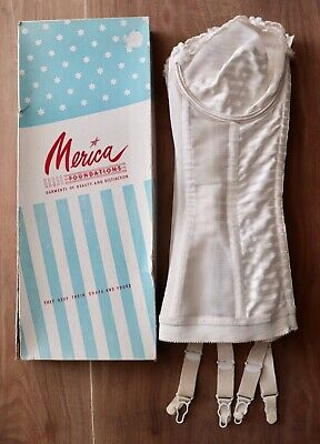 Retro Vintage corset in original box Merica Australia Pin Up