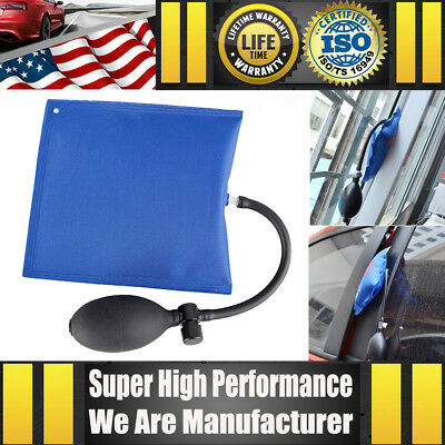 New Car Truck Air Pump Wedge Inflatable Bag Shim Door Window Alignment Hand Tool