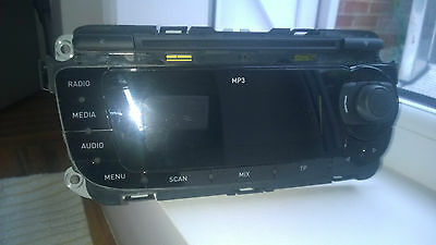 Seat Ibiza car radio stereo Cd Mp3 player In Black