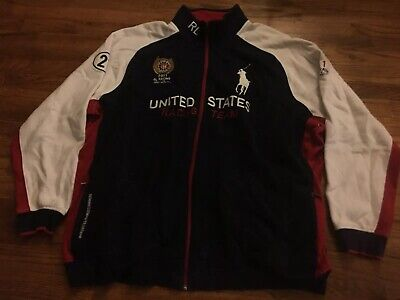 Embroidered 2011 Rl Rare 1 Polo Racing Jacket Team 4xlt Ralph 21 Lauren U s QdtrCsh