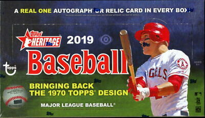 2019 Topps Heritage Lot Complete Your Set You Pick 40 Base Cards 1-400 from list