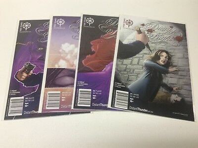 Diary Of Nght Distant Thunder #1-4 (Bloodfire/Allred/0617263) Complete Set Of 4
