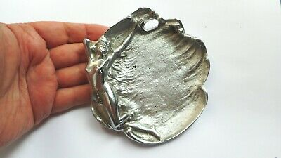 Art Deco Original Chrome Diana / Nude Ashray Bowl