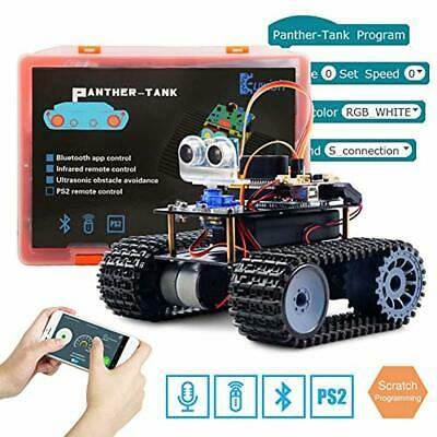 KEYWISH PANTHER-TANK ROBOT for Arduino UNO Project Smart Car Kit with  Tutorial,U