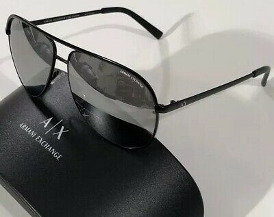 42881d16135b NWT A X ARMANI EXCHANGE Men s AX 2002 6063Z3 POLAR MIRRORED SUNGLASSES 61 12