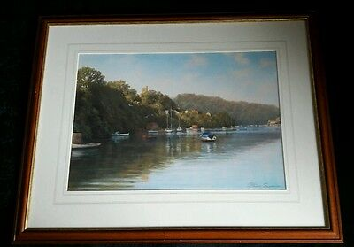 Early morning sunshine by Peter symonds print and framed.