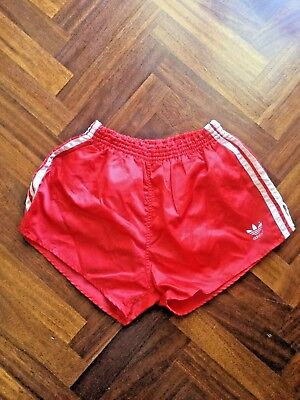 Pantaloncino Adidas Sprinter Shorts Glanz Nylon West Germany Shiny Vintage 80S