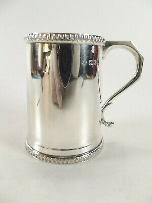 Antique Silver Christening Mug Hallmarked London 1924 Ref 133/5