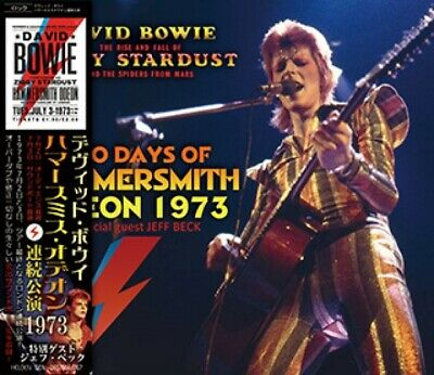 #Me NEW David Bowie -TWO DAYS OF HAMMERSMITH ODEON 1973 3CD
