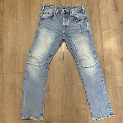 5adb30a627bb49 Jack & Jones Core Stan Anti Fit Arc Leg Deadstock Workwear Jeans W34 L32  (a55
