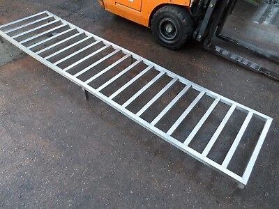 Stainless Steel Dunnage Rack Coldroom 2500 x 610 mm £125 + Vat