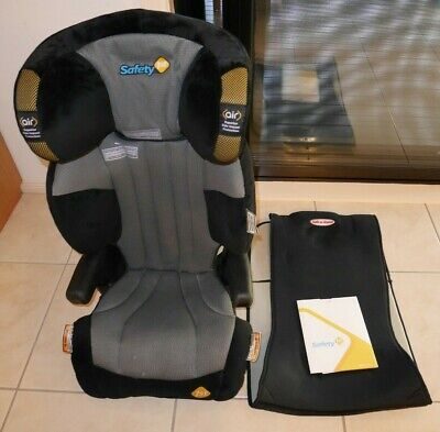"Safety 1st Custodian II Booster Seat PLUS Car Seat Protector Safe ""n"" Sound NICE"