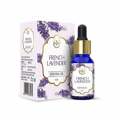 The Beauty Co. Natural French Lavender Pure Essential Oil, 15ml Free Shipping