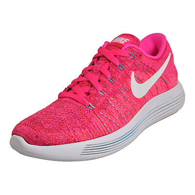 finest selection 6c835 1abb4 Nike Lunarepic Flyknit Femmes Chaussures Course Fitness Gym Baskets Rose