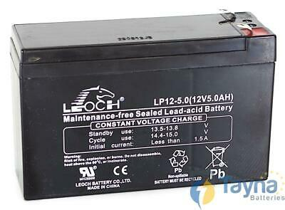 Leoch LP12-5.0 12V 5Ah Sealed Batterij