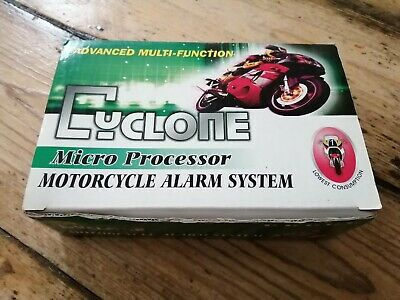 Cyclone motorcycle alarm system