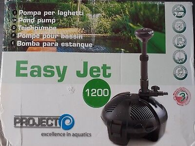Pompe bassin Project Easy Jet 1200