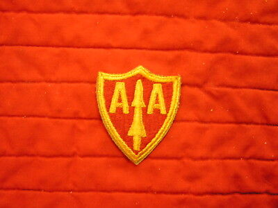 US Army Anti-Aircraft Artillery AA Command WWII patch