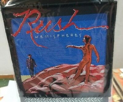 Rush Patch New  Rare Collectable Woven English Import