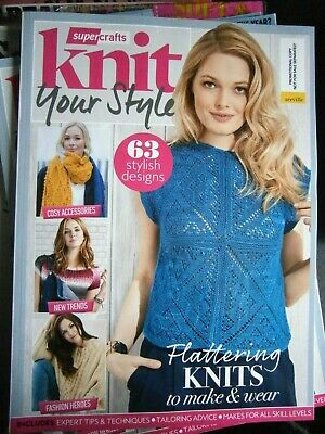 Supercrafts Knit Your Style Bookazine (new) 2018