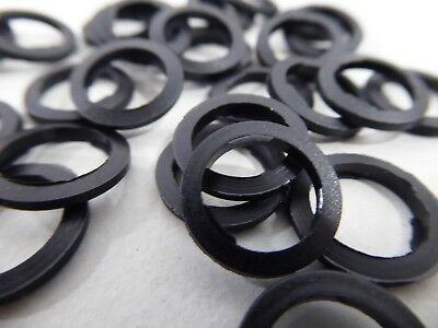 "Camozzi 2661 Black Nylon Washer 3/8"" (Pack of 1000)"