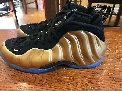 official photos 4454a 098fc Nike Foamposite One All Star Foam Penny 314996-700 Black Gold Size 7.5 NWO