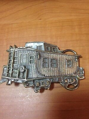 Caboose Belt Buckle by The Great American Buckle Company SN: J271 1978